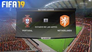 FIFA 19 - Portugal vs. Netherlands (Nations League Final)