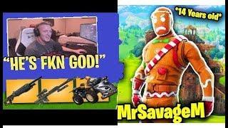 MrSavageM Mistakenly Enters Solo Squad Match (Insane gameplay)#fortnitemoments #mrsavagem