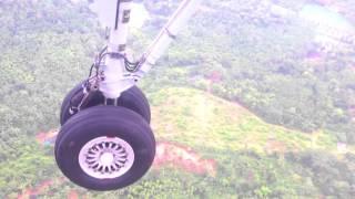 Landing at Mangalore Airport