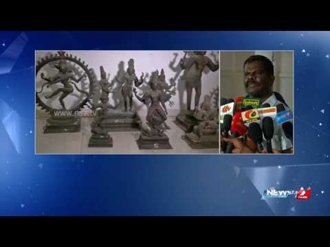 Police arrest 2 Pondicherry idol smugglers ; search for French couple still on | News7 Tamil