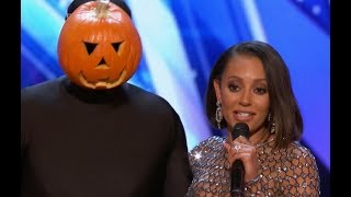 Dancing Pumpkin Man Slays The Stage | Week 3 | America