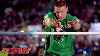 A look at John Cena's road to recovery for Hell in a Cell: Raw, Oct. 14, 2013