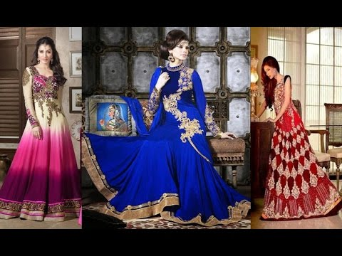 Latest Long Anarkali Dress Designs Patterns For All Occassions Wedding Marriage Shaadi & Others