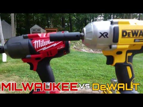 Xxx Mp4 Milwaukee 18v Fuel 2763 20 Vs DeWalt 20v XR Impact Wrench DCF899B Lag Bolt Face Off In 4k 3gp Sex