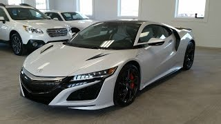 COLLECTION DAY! My Friend Bought A New 2017 Acura NSX!