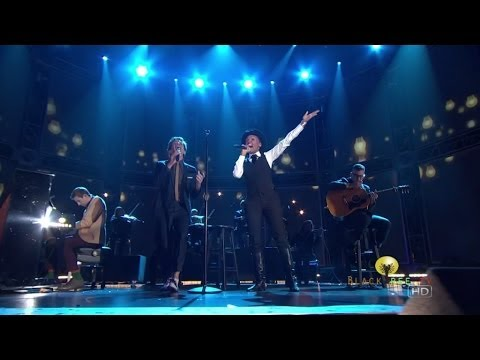 Fun. performs w Janelle Monae at 55th Grammy Nominations Concert