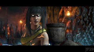 Mortal Kombat X : Tanya All Intro Dialogues (MKX)