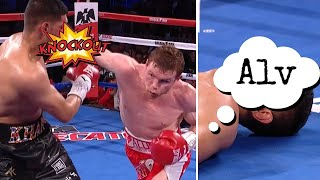 Canelo savage after khan fight