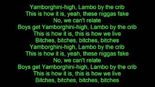 ASAP Rocky   Yamborghini High Lyrics ft  ASAP Ferg