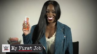 WWE Superstars reveal their first paydays: WWE My First Job