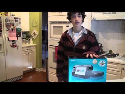Nintendo Wii U Unboxing on Release 7 games