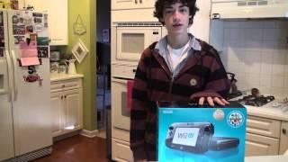 Nintendo Wii U Unboxing on Release +7 games!
