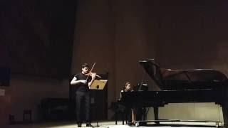 Edward Elgar- Violin Concerto In B Minor, Op. 61: Kainan Belato, Violino; Talita Olivetti, Piano