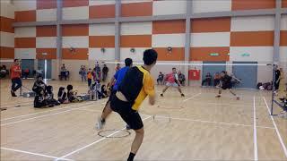 Perlawanan Pertunjukkan Kem Bakat Badminton KBS Peringkat Negeri Perak 2018