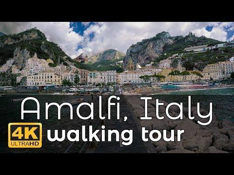 Xxx Mp4 Amalfi Italy Walking Tour In 4K 3gp Sex