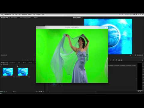 Xxx Mp4 How To Do Green Screen Chroma Key Effects In Adobe Premiere Pro CC 3gp Sex