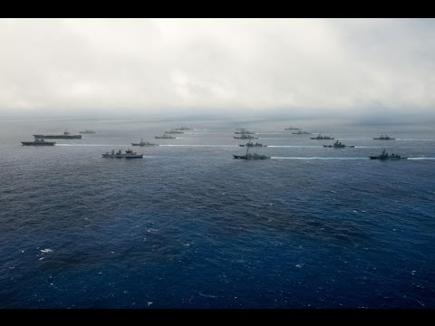 watch Massive US Navy Show Of Force In Pacific A Warning to China