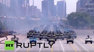 Never-seen-before weaponry: Highlights of China V-Day 2015 parade