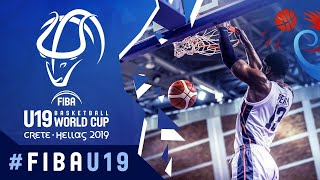 USA v New Zealand - Full Game - FIBA U19 Basketball World Cup 2019