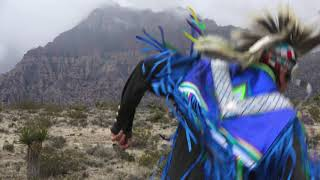 Native Dancers at Red Rock Canyon ~ Grass Dance
