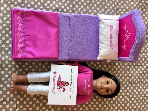 American Girl Doll Hotel Room Package Exclusive Celebration Set