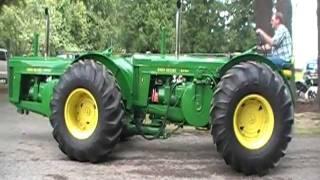 Twin Cylinder, Dual Engine, John Deere Tractor PSATMA 2011