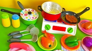 Toy cutting fruit velcro cooking playset fruit salad  plastic -игрушка резки
