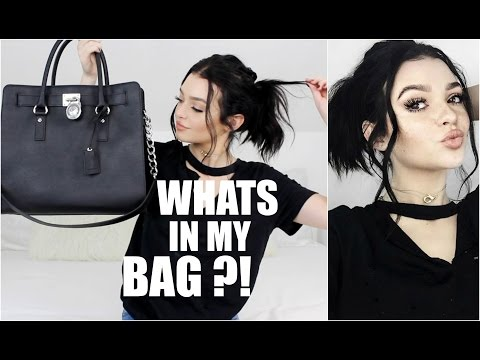 WHATS IN MY BAG Kelsey Simone