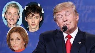 Celebs REACT To Trump