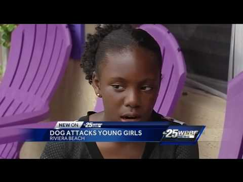 Dog attacks young girls in Riviera Beach