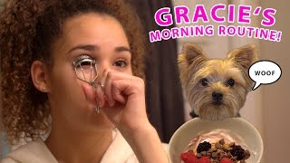 Gracie's Morning Routine (Weekend Edition!)