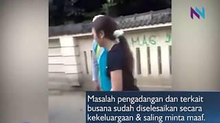 Wanita Pakai Hotpants Di Hadang Warga di Sleman, Karena Tidak Sopan