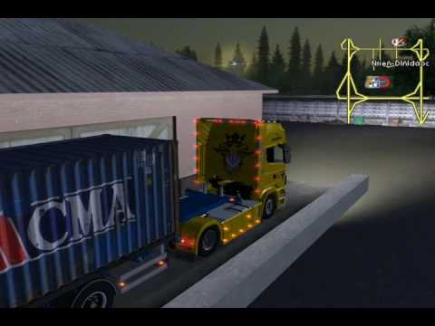 Euro Truck Simulator Scania R620 8