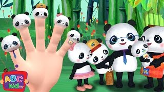 Finger Family - Panda | Nursery Rhymes & Kids Songs - ABCkidTV