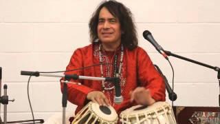 Tari Khan Playing Teentaal in Canada.