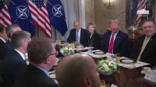 "POTUS Trump Blasts Germany During Bilateral Breakfast: ""Germany Is Controlled By Russia Now"""