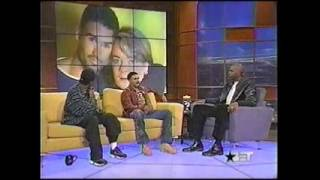 Denzel Washington and Shemar Moore on BET Live (2000)