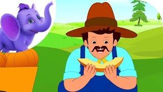 Peter, Peter Pumpkin Eater - Nursery Rhyme with Karaoke