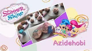 Shimmer and shine Cupcake / Azide Hobi