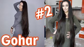Gohar Shahnazaryan #2 beautiful dark long hair
