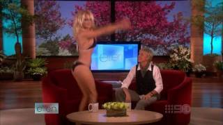 Pamela Anderson Strip On Ellen Degeneres Show