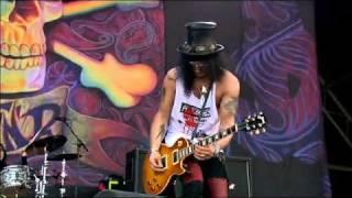 Guns N Roses Slash - Sweet Child O' Mine - @ Glastonbury Live Concert 2010.flv