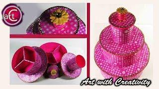 Multi Storage box | Girls' Special  | DIY | Art with Creativity
