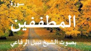 سورة المطفيين الشيخ نبيل الرفاعي
