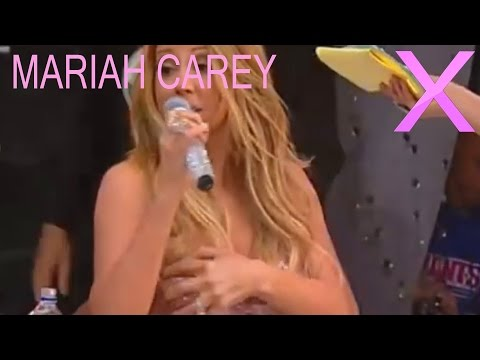 Mariah Carey's Dress Comes off on Live TV