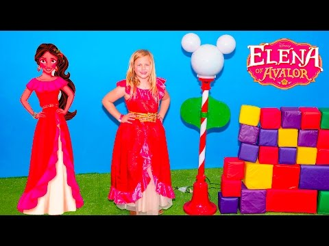 ELENA of AVALOR Disney Surprise Assistant Searches for Funny LOL PJ Masks Mickey Mouse Toys