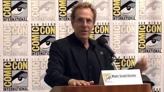 Mr. Sci-Fi and the entire Space Command Panel at Comic-Con