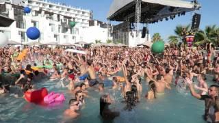HARD ROCK HOTEL IBIZA - TINIE TEMPAH & LOVEJUICE POOL PARTY