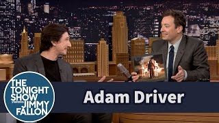 Adam Driver Points Himself Out in Star Wars Stills