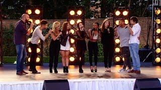 The X Factor UK 2015 S12E08 Bootcamp Day 1 Group 10 Challenge